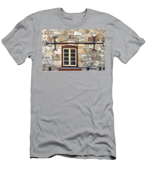 Window Into The Past Men's T-Shirt (Athletic Fit)