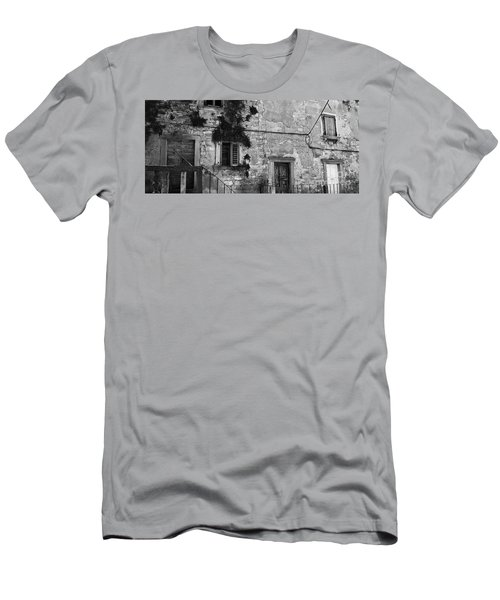 Men's T-Shirt (Slim Fit) featuring the photograph Crumbling In Croatia by Andy Prendy