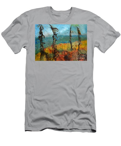 Windswept Pines Men's T-Shirt (Athletic Fit)