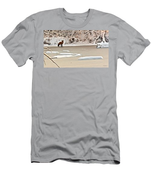 Winter Fox Men's T-Shirt (Athletic Fit)