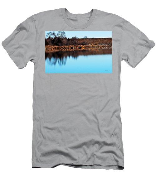 Winter Walk Men's T-Shirt (Athletic Fit)