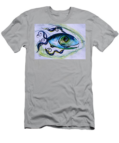 Wtfish 009 Men's T-Shirt (Athletic Fit)