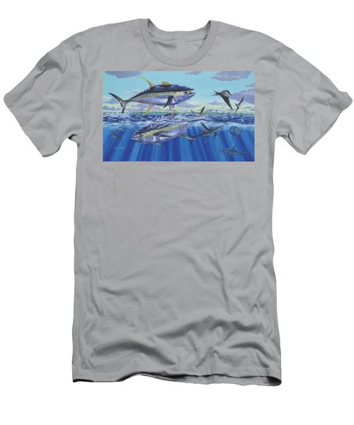 Yellowfin Bust Men's T-Shirt (Athletic Fit)