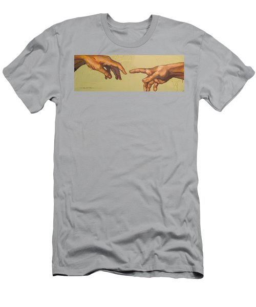 Michelangelos Creation Of Adam 1510 Men's T-Shirt (Athletic Fit)