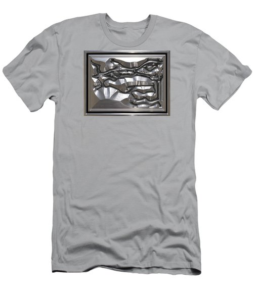 ' Light Rays Through Dark Passages ' Men's T-Shirt (Athletic Fit)