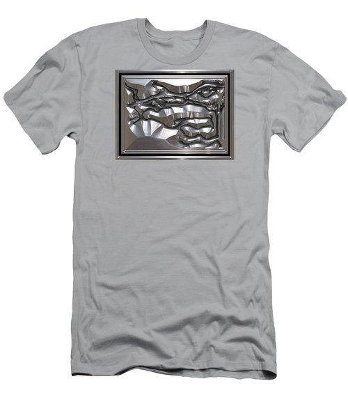 ' Light Rays Through Dark Passages ' Men's T-Shirt (Slim Fit)