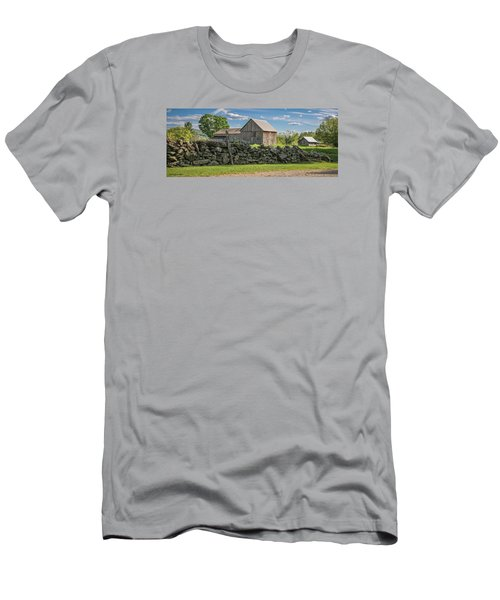 #0079 - Robert's Barn, New Hampshire Men's T-Shirt (Athletic Fit)