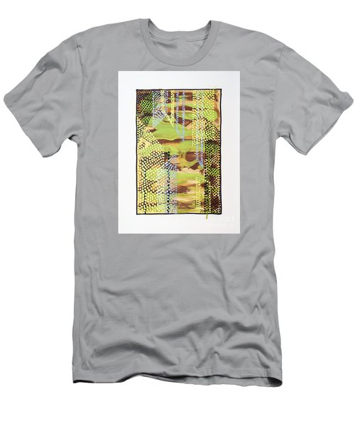 01329 Slip Men's T-Shirt (Slim Fit) by AnneKarin Glass