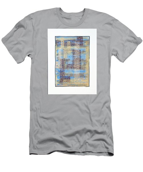 01334 Over Men's T-Shirt (Slim Fit) by AnneKarin Glass