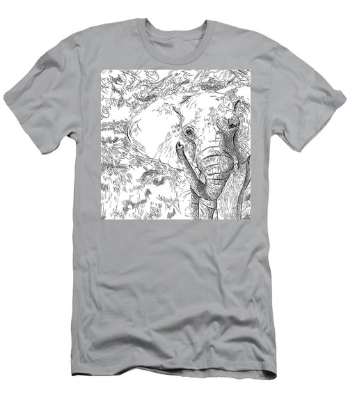 02 Of 30 Elephant Men's T-Shirt (Athletic Fit)