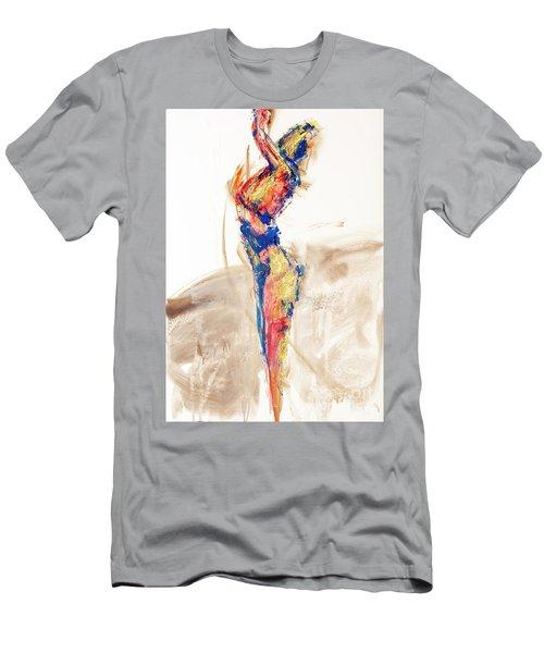 04997 Bird Call Men's T-Shirt (Slim Fit) by AnneKarin Glass