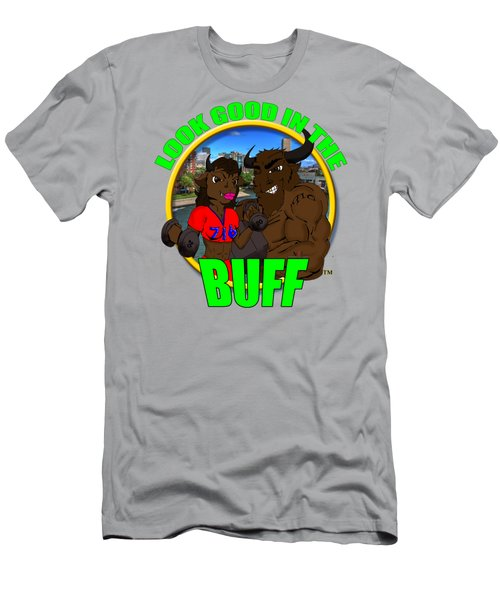 08 Look Good In The Buff Men's T-Shirt (Athletic Fit)