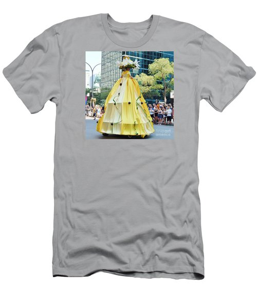 2015 Montreal Lgbta Parade  Men's T-Shirt (Slim Fit) by Reb Frost