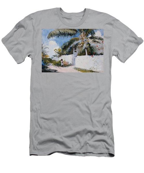 A Garden In Nassau Men's T-Shirt (Athletic Fit)