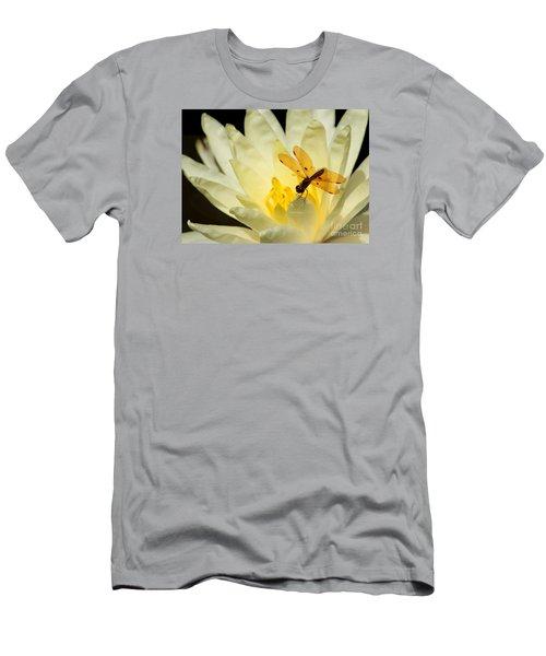 Amber Dragonfly Dancer 2 Men's T-Shirt (Athletic Fit)