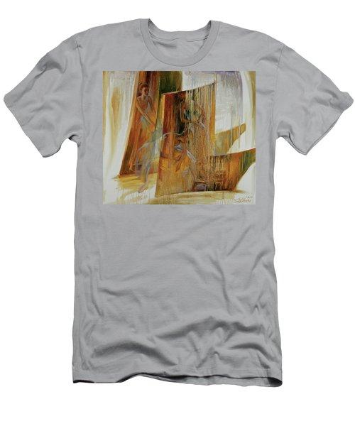 Ba-ll-et Men's T-Shirt (Athletic Fit)