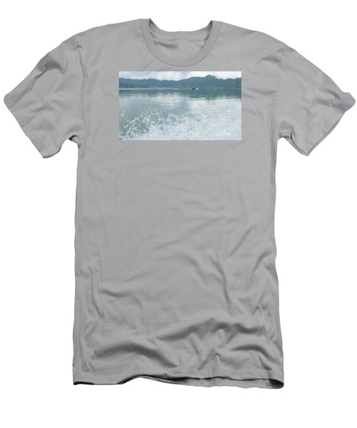 Bali River  Men's T-Shirt (Slim Fit)