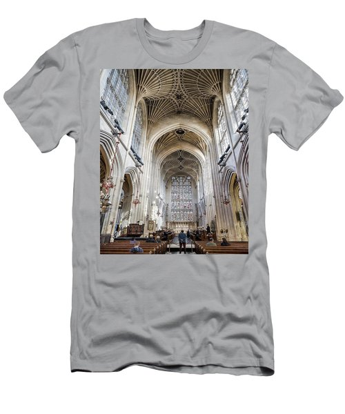 Bath Abbey  Men's T-Shirt (Athletic Fit)