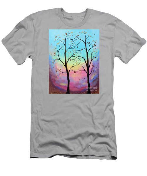 Branching Out Men's T-Shirt (Slim Fit) by Stacey Zimmerman