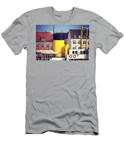 Bremerhaven Harbor, Germany Men's T-Shirt (Athletic Fit)