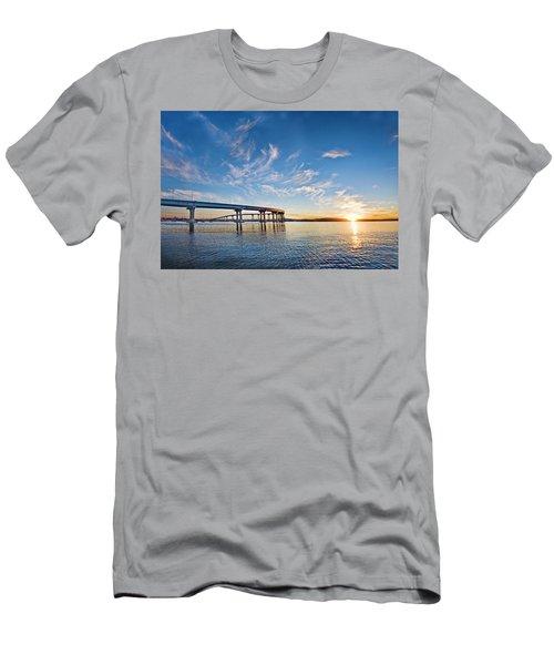Bridge Sunrise Men's T-Shirt (Athletic Fit)