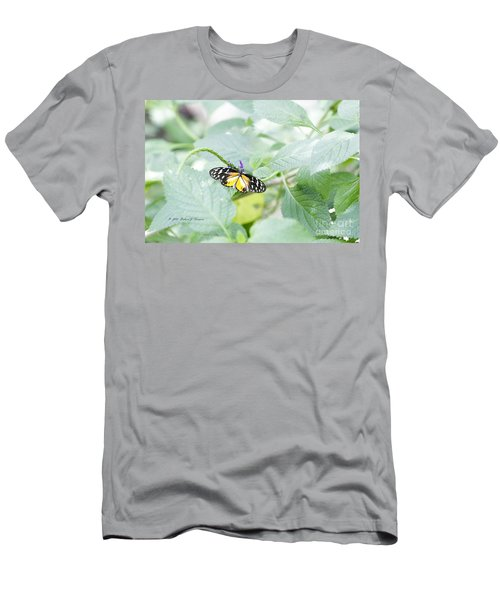 Tiger Butterfly Men's T-Shirt (Athletic Fit)