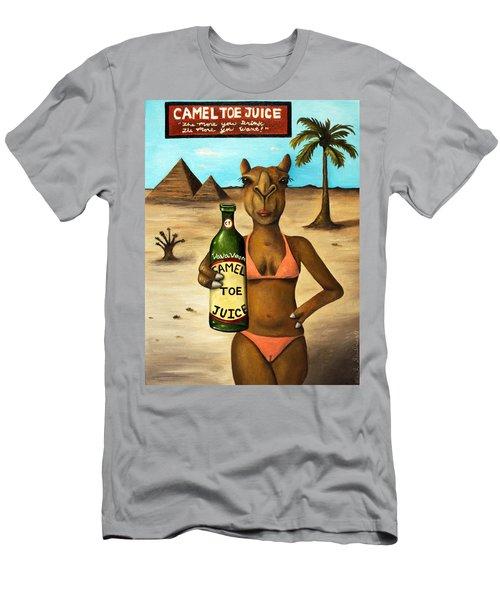 Camel Toe Juice Men's T-Shirt (Athletic Fit)