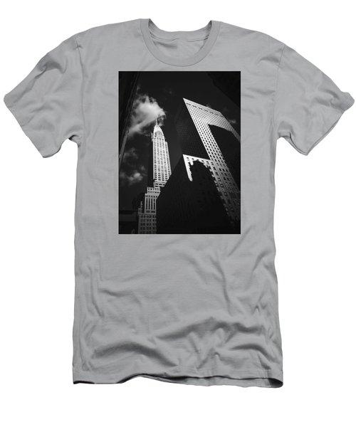 Chrysler Building - New York City Men's T-Shirt (Slim Fit)