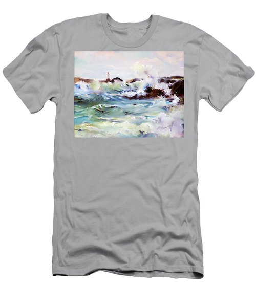 Churning Surf Men's T-Shirt (Athletic Fit)