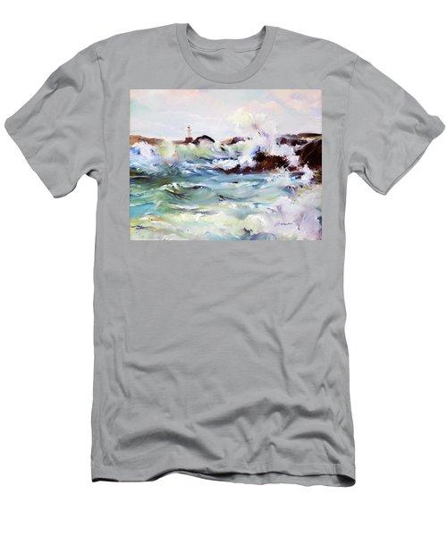 Churning Surf Men's T-Shirt (Athletic Fit)