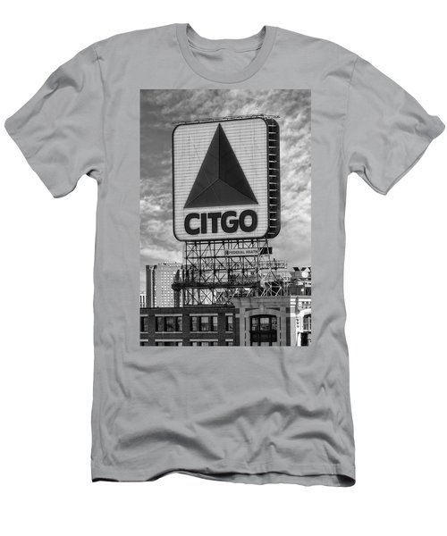 Citgo Sign Kenmore Square Boston Men's T-Shirt (Athletic Fit)
