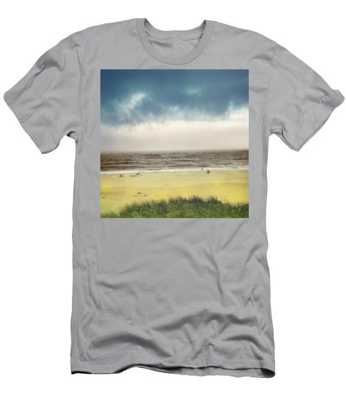 Clearing Storm Montauk Men's T-Shirt (Athletic Fit)