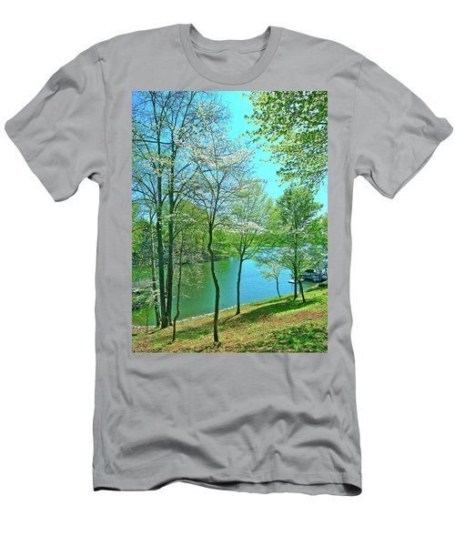 Cluster Of Dowood Trees Men's T-Shirt (Athletic Fit)