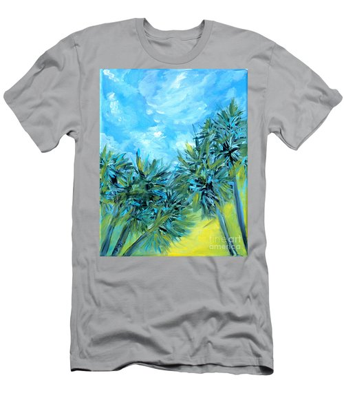 Collection Art  For Health And Life. Painting 10  Men's T-Shirt (Athletic Fit)