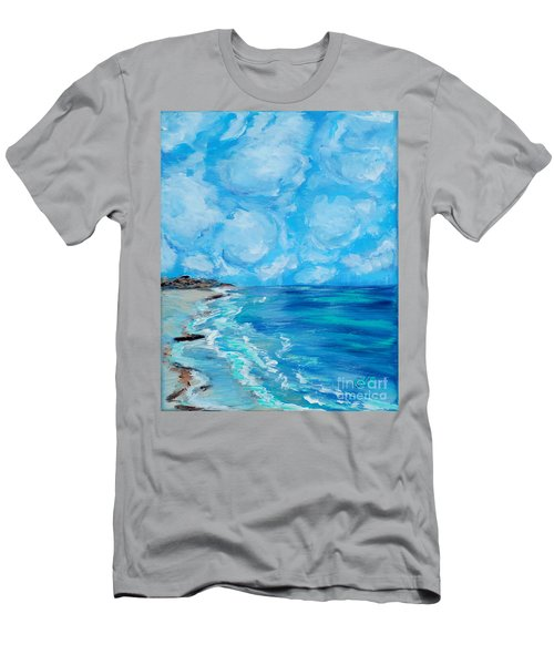 Collection. Art For Health And Life. Painting 4 Men's T-Shirt (Athletic Fit)