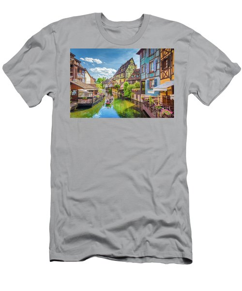 Colorful Colmar Men's T-Shirt (Slim Fit) by JR Photography