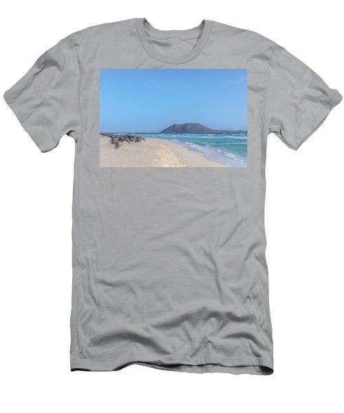 Corralejo - Fuerteventura Men's T-Shirt (Slim Fit) by Joana Kruse