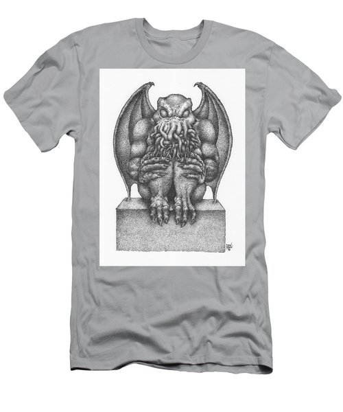 Cthulhu Idol Men's T-Shirt (Athletic Fit)