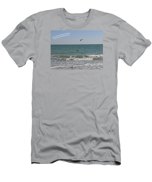 Dance Of Life Men's T-Shirt (Slim Fit) by Rhonda McDougall