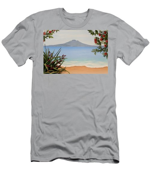 Dreaming Of Rangitoto Men's T-Shirt (Athletic Fit)