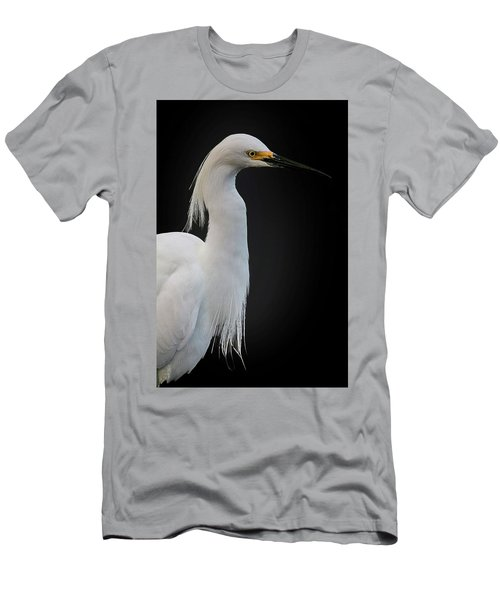 Egret Men's T-Shirt (Athletic Fit)