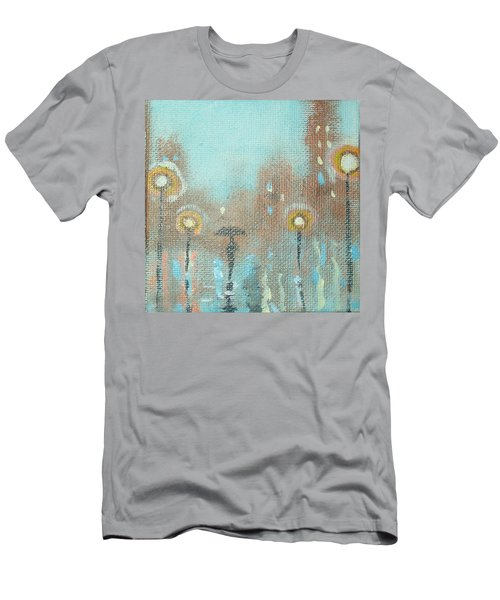 Men's T-Shirt (Slim Fit) featuring the painting Evening Stroll by Raymond Doward