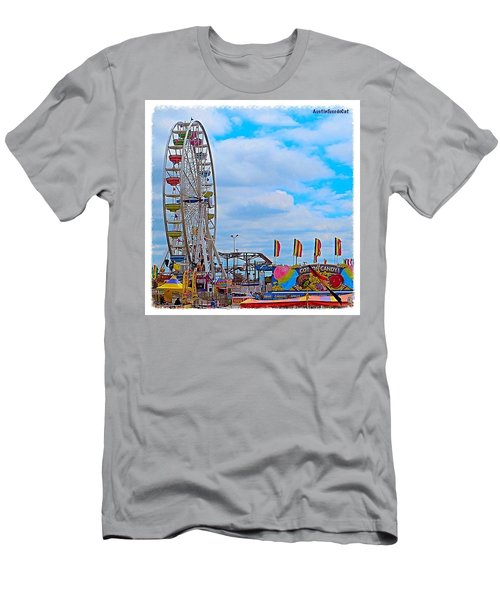 #exploring The #austin, #texas #rodeo Men's T-Shirt (Athletic Fit)
