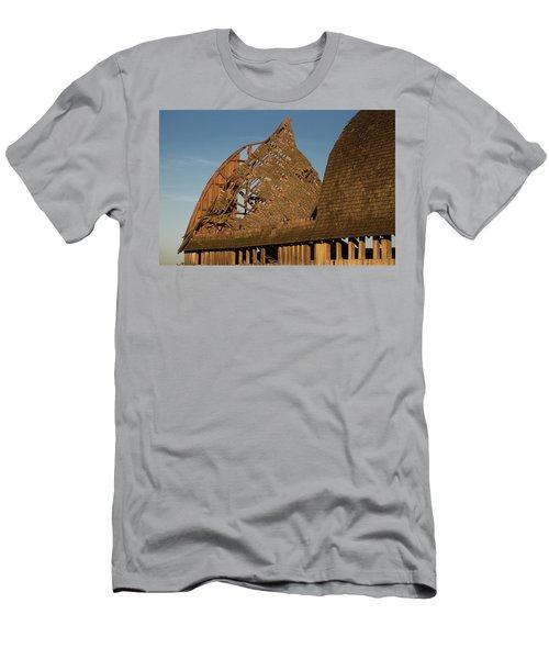 Men's T-Shirt (Slim Fit) featuring the photograph Falling Apart by Elvira Butler