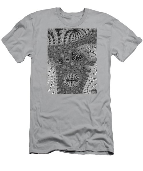 Men's T-Shirt (Slim Fit) featuring the photograph Filigree And Lace by Ronda Broatch