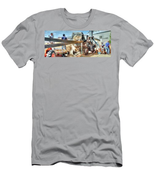 Filling The Sack 3485 Men's T-Shirt (Slim Fit) by Jerry Sodorff