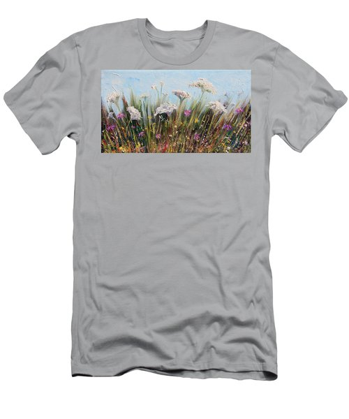 Flower Dance Men's T-Shirt (Athletic Fit)