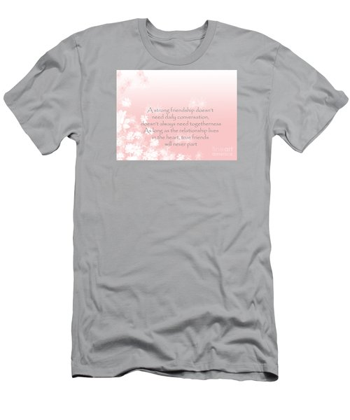 Men's T-Shirt (Slim Fit) featuring the digital art Friendship by Trilby Cole