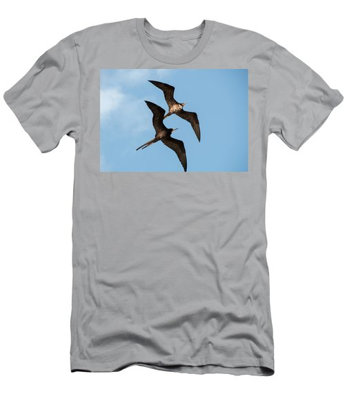 Frigates At Isla Mujeres Men's T-Shirt (Athletic Fit)