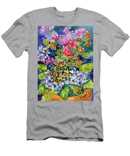 Geranium II Men's T-Shirt (Athletic Fit)